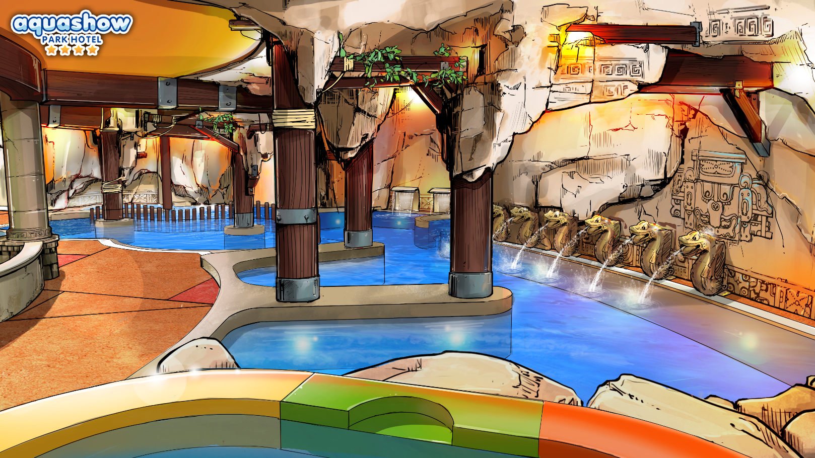 Aquashow Indoor Hydrotherapy Pool for adults and children