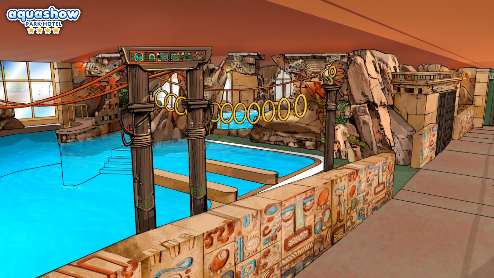 Aquashow Indoor Pool Advemture